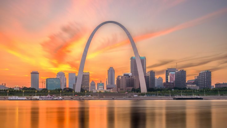 A Marvel of Steel Construction: The Gateway Arch and the Historic Journey It Symbolizes